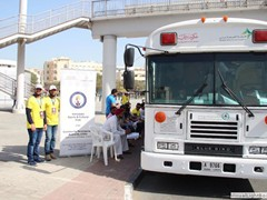 Blood donation camp at Union Metro Station